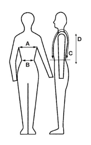 Sizing Charts For Vipa Body Protectors Body Protection Vests